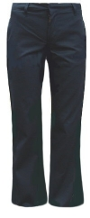 Dickies Girl Junior Stretch Low-Rise Flare Leg School Pants<br>SALE ITEM: reg $39.95