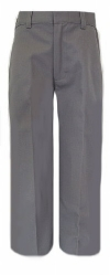 Boys Grey School Uniform Pants