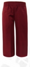 Classroom Youth Pull on Burgundy Pants