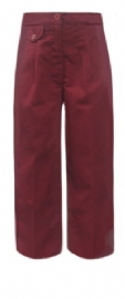 Classroom Girls Burgundy School Uniform Pants