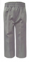 Rifle Grey Elastic Waist Pull On School Pants