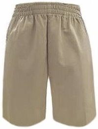 Pull On Kid Shorts - Large Waist
